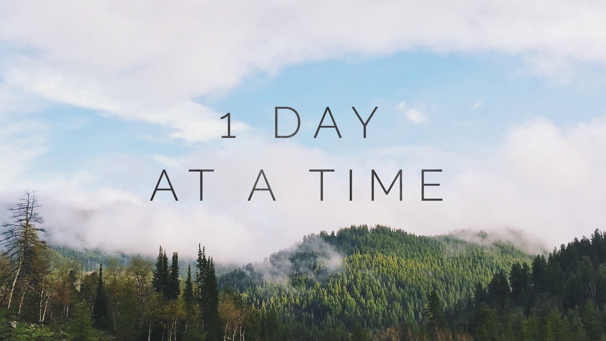 1 Day At a Time